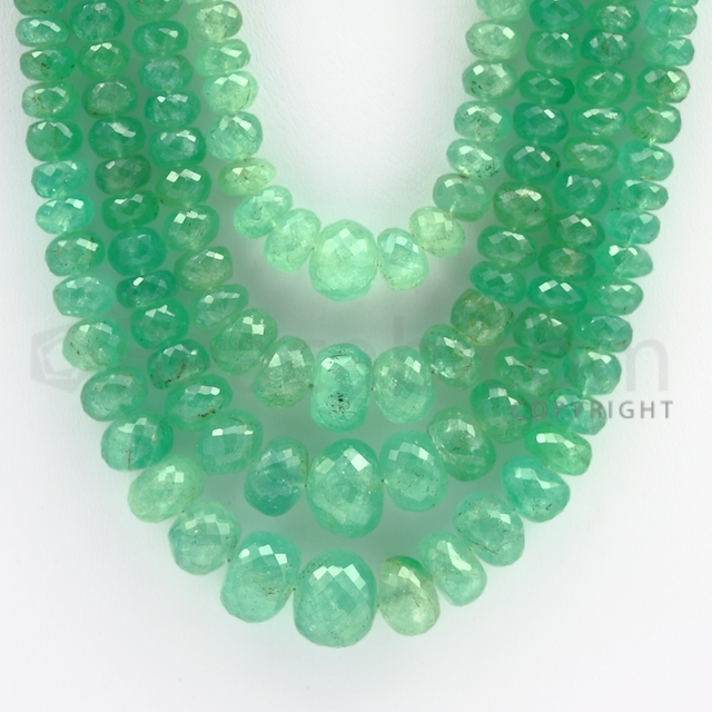 colombian emerald beads